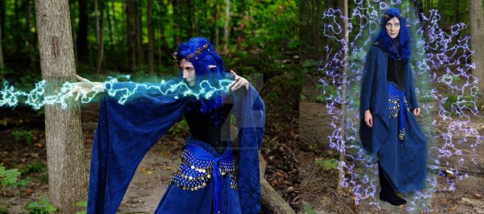 Witch Bolt and Protection form Elements by Elvish-Designs