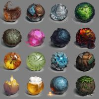 Material Study by Ika88
