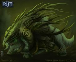 Rift Contest Entry -Bark Beast by Weelow