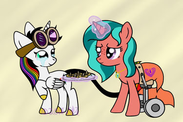Peanut Butter Blossoms made with Hugs by Ripple-Effect-MLP
