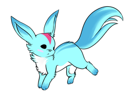 FFXIV - Carbuncle by FrostieChu