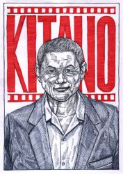 Takeshi Kitano by WolfMagnum