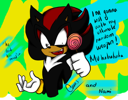 Shadow xD by SonicWithAmyForever
