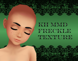 KH MMD Freckle Texture: DL by MMDKoala