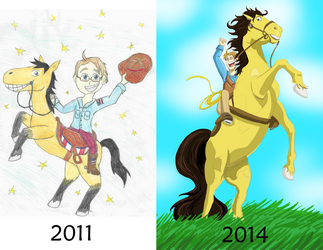 CHANGE IS POSSIBLE - Cowboy America Redraw by CaptainAki13