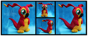 Joeymon Custom Plush by Nazegoreng