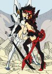 KLK Zine image, flats version by oh8