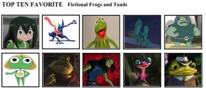 Top Ten Favorite Fictional Frogs and Toads by mlp-vs-capcom