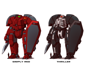 build a mech wave 2 by blazbaros - My Commissions by LordCastigator