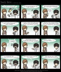 Death Note: A Different Case. by eychanchan