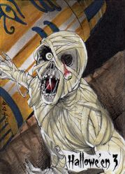 Hallowe'en 3 Sketch Card - Israel Arteaga 3 by Pernastudios
