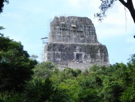 Tikal Temple IV 4 by MexicanGuy