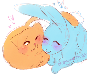 Rabbit And Cat pt. 1 by dongoverlord