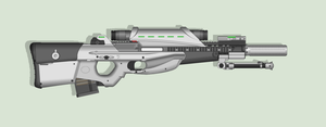 -PALADIN- Bullpup Sniper Rifle by HypnoZeus