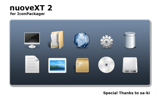 nuoveXT 2 for IconPackager by anthonium