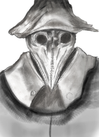 Drawing Practice- Bloodborne by 17YD