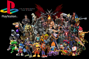 Playstation Characters Wallpaper by AlexDarkmatter