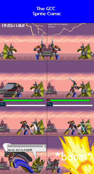 The GCC Sprite Comic 342 Power Slash by Godzilla90sTK