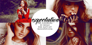 expectation psd coloring by devilMisao
