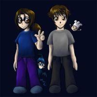 Chibi - Shougo and me by wendylizana
