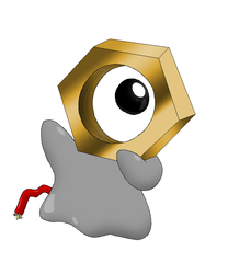 Meltan Fanart - New Gen8 Pokemon by Rotommowtom