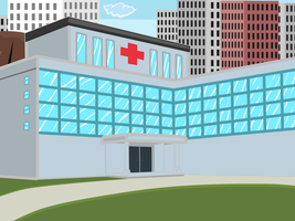 Hospital by Mortyn
