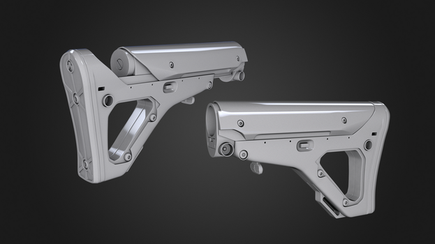 Magpul UBR Stock by AndreiPriss