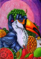 Fruity Toucan by wolfprancis2bet