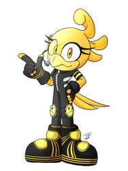 [Art Trade] Trill The Canary by SilverFireFox10