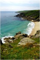 Porth Chapel Beach 52-069 by Prince-Photography