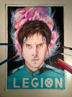 my drawing dan stevens from legionfx by lilithstaacke