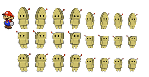 Whittles (Paper Mario style) by DerekminyA