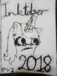 Inktober 2018 - Finished by EmbroideredEquations