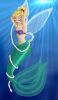 + TINKERBELL as ARIEL + by Opal-I