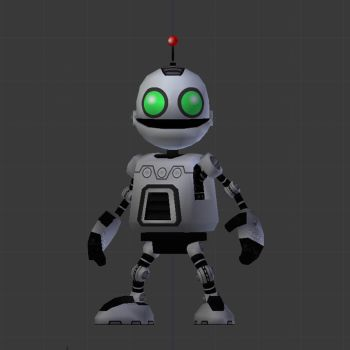 Clank 3D Model by LordBruco