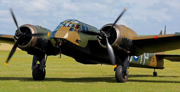 Bristol Blenheim Mk.IF by Daniel-Wales-Images