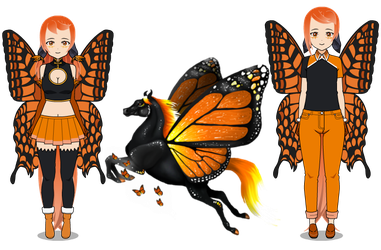 3: Monarch by lorine19