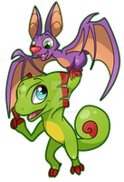 Yooka Laylee by MemeSquid