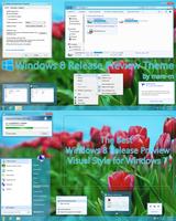 Windows 8 Release Preview Theme for Windows 7 by mare-m