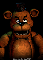 Angry Freddy - Render Remake by GamesProduction