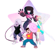We Are the Crystal Gems! by shamserg