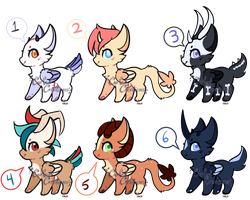 DaD OTA Adopts~ {0/6} by curledcreations