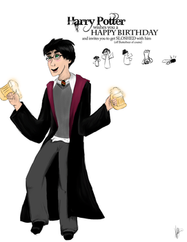 Happy Birthday from Harry by pirate-LD