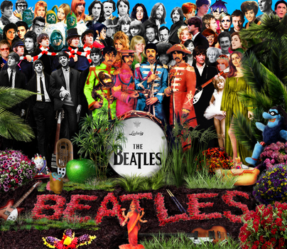 My version Sgt. Pepper's Lonely Hearts Club Band by AraxyLennon-iplier