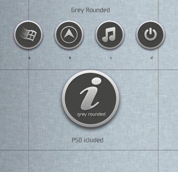 Grey Rounded by blymar