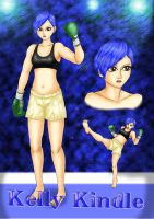 Kelly The Kick Boxer By Mumuemi by Ofazllirk