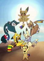 World's strongest Pichu - Contest entry - Wordchus by B00ya
