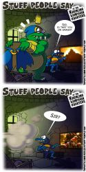 Stuff people say 329 by FlintofMother3