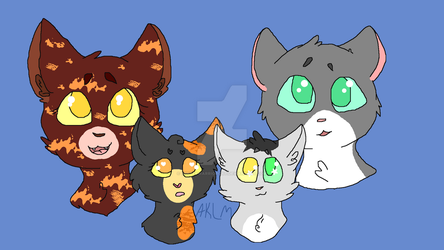 In Our Family Portrait - COMMISION  by WinterWarriorCat