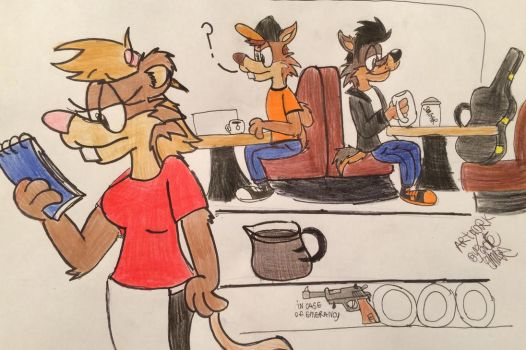 Wild Mouse Cafe by Fox-Jake